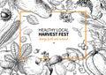Harvest Festival. Hand Drawn V...