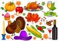 Harvest festival Happy Thanksgiving Day holiday celebration