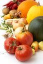 Harvest. Fresh ripe vegetables Stock Photography