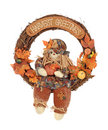 Harvest Greetings Wreath Royalty Free Stock Photo