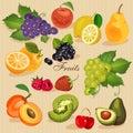 Harvest Juicy Fruit And Berrie...