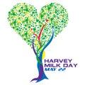 Harvey milk dzień Zdjęcie Royalty Free