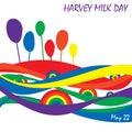 Harvey milk dzień Obrazy Stock