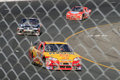 Harvick, Bowyer and Burton Stock Photography