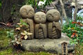 Hase-dera Temple Statues Royalty Free Stock Photo