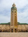 Hassan II mosque in Casablanca Stock Photos
