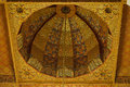 Hassan ii mosque interior vault in casablanca morocco arabic arches and ornaments the of the Stock Image