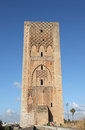 Hassan tower in rabat morocco the tour Royalty Free Stock Photography