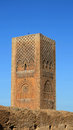 Hassan Tower in Rabat, Morocco Royalty Free Stock Photo
