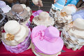 Hat is handcraft in summer Royalty Free Stock Images