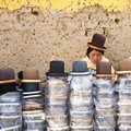 Hat Shop, Bolivia Royalty Free Stock Image