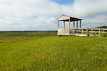 Hatchie wildlife refuge observation tower at lower national Royalty Free Stock Photography