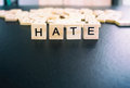 stock image of  Hate