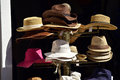 Hats for sale Royalty Free Stock Photo