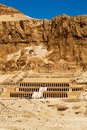 Hatshepsut temple, Egypt Royalty Free Stock Image