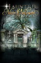 Haunted New Orleans Cemetery Background Poster