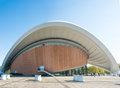 The `Haus der Kulturen der Welt House of World` Cultures in Berlin Royalty Free Stock Photo