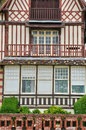 Haus in trouville sur mer in normandie Stockbild