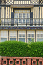 Haus in trouville sur mer in normandie Lizenzfreie Stockbilder