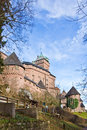 Haut-Koenigsbourg Castle Stock Images