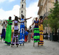 Havana Carnival Royalty Free Stock Photo