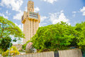 Havana cuba august russian embassy in the the minamar district nicknamed stalin s tooth built during the cold war Stock Photo