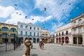 Havana Old Square or Plaza Vieja