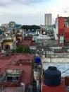 Havana roofs, Cuba