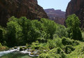 Havasu Canyon Mountains. Royalty Free Stock Photo