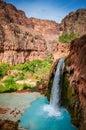 Havasu Falls - Grand Canyon West - Arizona Royalty Free Stock Photo