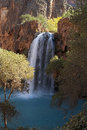 Havasu falls on the havasupai indian reservation Royalty Free Stock Photography