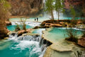 Havasu Falls Hike Royalty Free Stock Photo