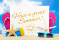 Have a great summer Royalty Free Stock Photo