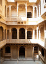 Haveli courtyard Stock Images