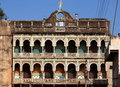 Haveli facade india Royalty Free Stock Images