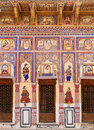 Haveli frescoed havelis in shekhawati traditional ornately decorated residences india rajasthan Stock Photos
