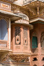 Haveli india in pushkar rajasthan Stock Photo