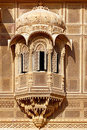 Haveli-private mansion in India. Jaisalmer city Royalty Free Stock Images