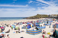 Haven St. Ives, Cornwall, het UK Royalty-vrije Stock Foto's