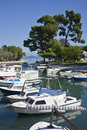 Haven in trogir a small island of croatia Stock Photo