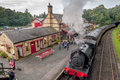Haverthwaite Station 5621 Royalty Free Stock Photo