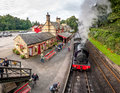 Haverthwaite Station 5629 Royalty Free Stock Photo