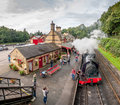 Haverthwaite Station 5622 Royalty Free Stock Photo