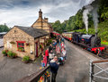 Haverthwaite Station 5636 Royalty Free Stock Photo