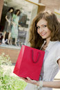 Having fun shopping Royalty Free Stock Photography