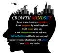 Growth mindset Royalty Free Stock Photo