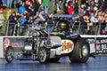 Havoc fuel altered santa pod raceway uk Royalty Free Stock Photo