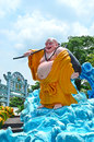 Haw Par Villa: Maitreya Buddha Royalty Free Stock Photo