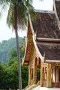 Haw Pha Bang temple. Royal Palace museum. Luang Prabang. Laos Royalty Free Stock Photo