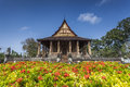Haw Phra Kaew is a former temple in Vientiane, Laos. Royalty Free Stock Photo